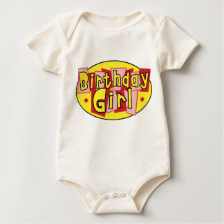 BABY - Birthday Girl Baby Bodysuit