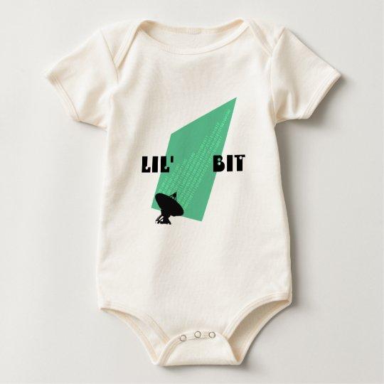 Baby Bits Lil' Bit Binary Digits Future Techie Baby Bodysuit