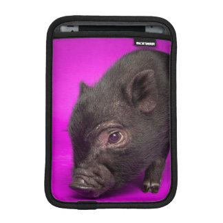 Baby Black Pig Sleeve For iPad Mini