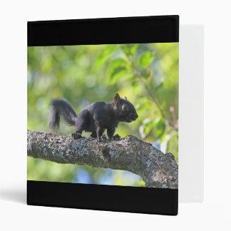 Baby Black Squirrel Binders