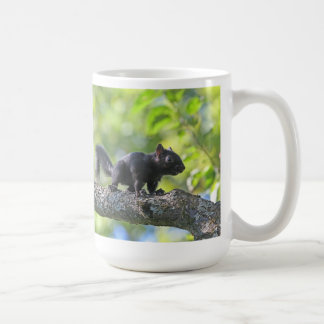 Baby Black Squirrel Coffee Mug
