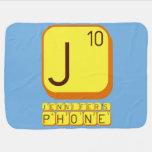 J JENNIFER'S PHONE  Baby Blanket
