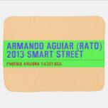 armando aguiar (Rato)  2013 smart street  Baby Blanket