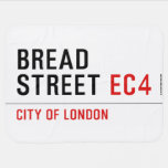 Bread Street  Baby Blanket
