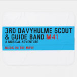 3rd Davyhulme Scout & Guide Band  Baby Blanket