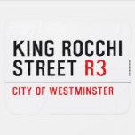 king Rocchi Street  Baby Blanket