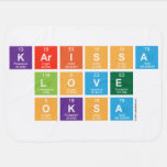 Karissa Love Oksa  Baby Blanket