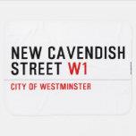 New Cavendish  Street  Baby Blanket