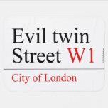 Evil twin Street  Baby Blanket