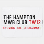 the Hampton  MWB Club  Baby Blanket