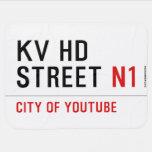 KV HD Street  Baby Blanket