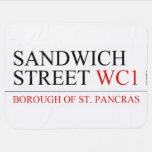 SANDWICH STREET  Baby Blanket