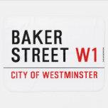 baker street  Baby Blanket