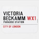 Victoria  Beckamm  Baby Blanket