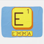 E EMMA  Baby Blanket