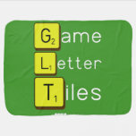 Game Letter Tiles  Baby Blanket