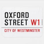 oxford street  Baby Blanket