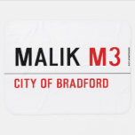 Malik  Baby Blanket