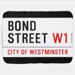 Bond Street  Baby Blanket