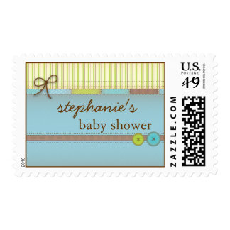 Baby Blanket Cute Quilt Baby Boy Postage Stamp