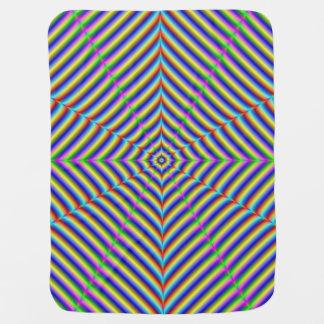 Baby Blanket  Dizzy Geometry