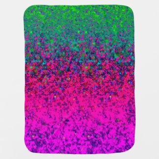Baby Blanket Glitter Dust Background