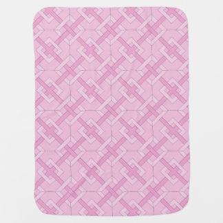 Baby Blanket - Interwoven Diamonds