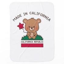 baby blanket – sweet California