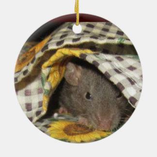 BABY BLANKIE RAT ORNAMENT