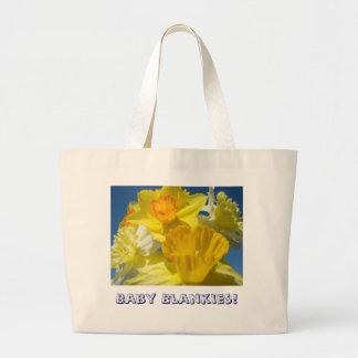 Baby Blankies! Tote Bag Baby's Stuff Daffodils