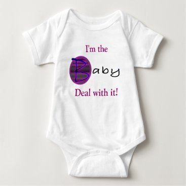 Toddler & Baby themed Baby Bling Neon Pink Baby Bodysuit