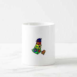 baby block toy graphic square animals coffee mugs