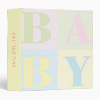 """BABY Blocks"" Binder"
