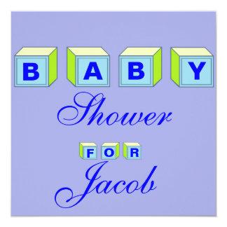 Baby Blocks-boy Card