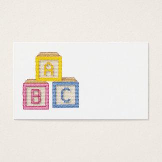 Baby Blocks Business Card