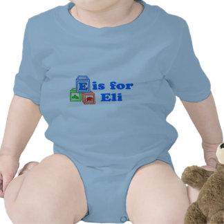 Baby Blocks Eli Bodysuits