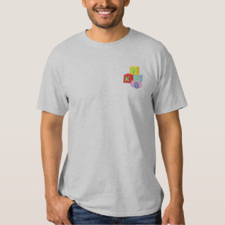 Baby Blocks Embroidered T-Shirt