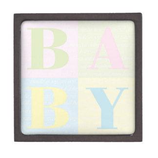 """""""BABY Blocks"""" Gift Box"""