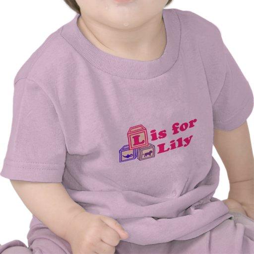 Baby Blocks Lily Tshirt
