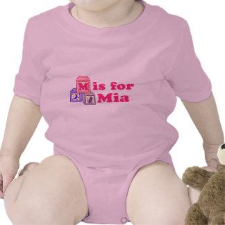 Baby Blocks Mia Tee Shirts