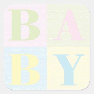 """BABY Blocks"" Stickers"
