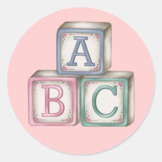 Baby Blocks Stickers