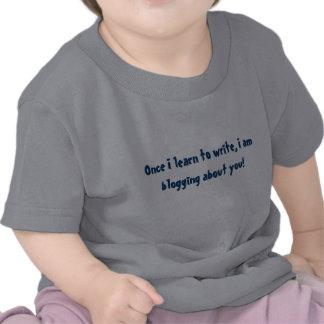 Baby Blogger Short Sleeve Tee Shirt,