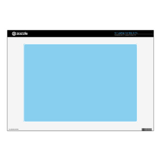 """Baby Blue 13"""" Laptop Decal"""