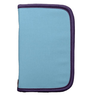 Baby Blue Amethyst High Quality Full Color Folio Planners