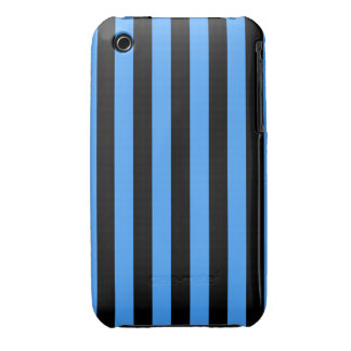 Baby blue and black iPod touch case