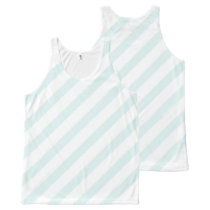 Baby Blue and White Stripe Summer  Shirt