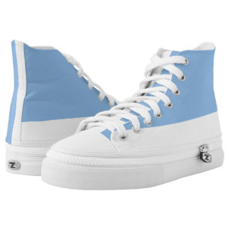 Baby Blue and White Two-Tone Hi-Top