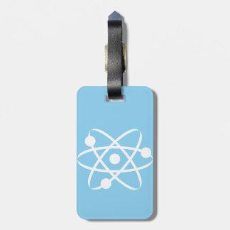 Baby Blue Atom Bag Tag