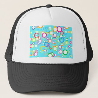 BABY BLUE BATH BUBBLES TRUCKER HAT